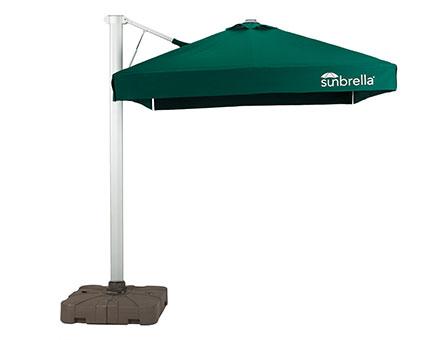液压单开伞