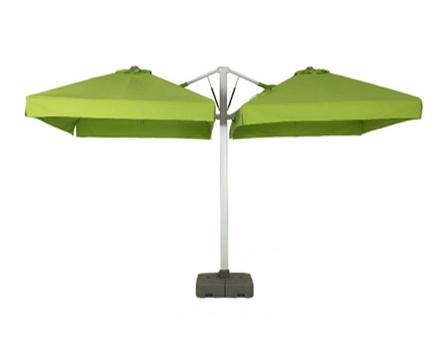 液压双开伞